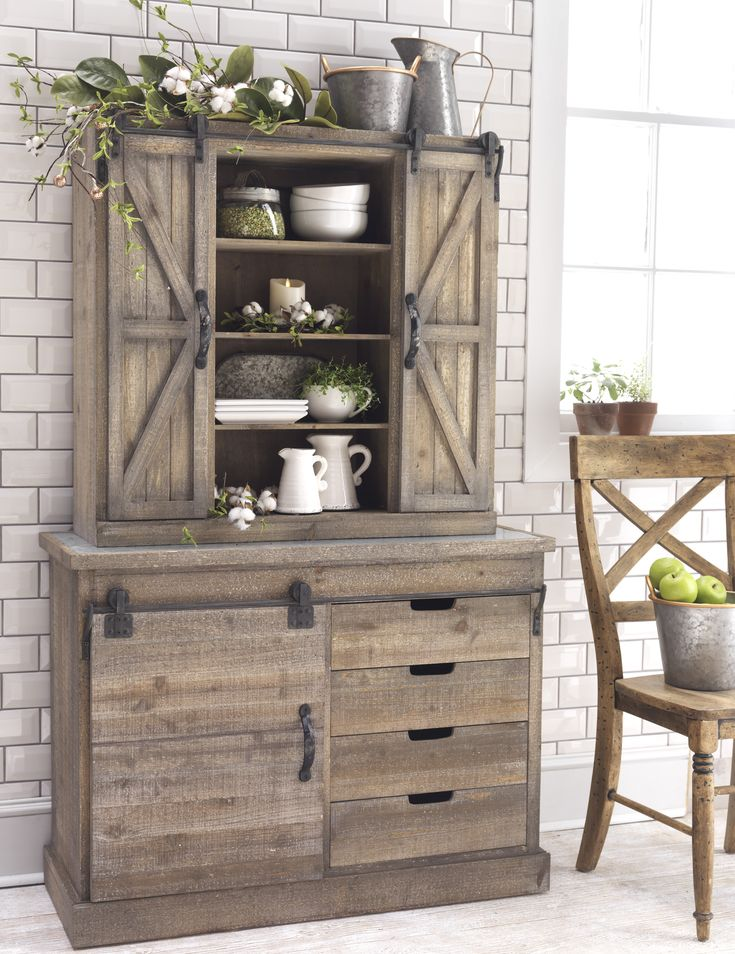 Modern Kitchen Hutch best 25+ rustic hutch ideas on pinterest | painted hutch, dining