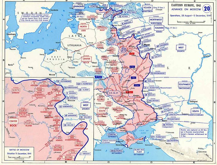 Map Operation Typhoon - Battle of Moscow - Wikipedia