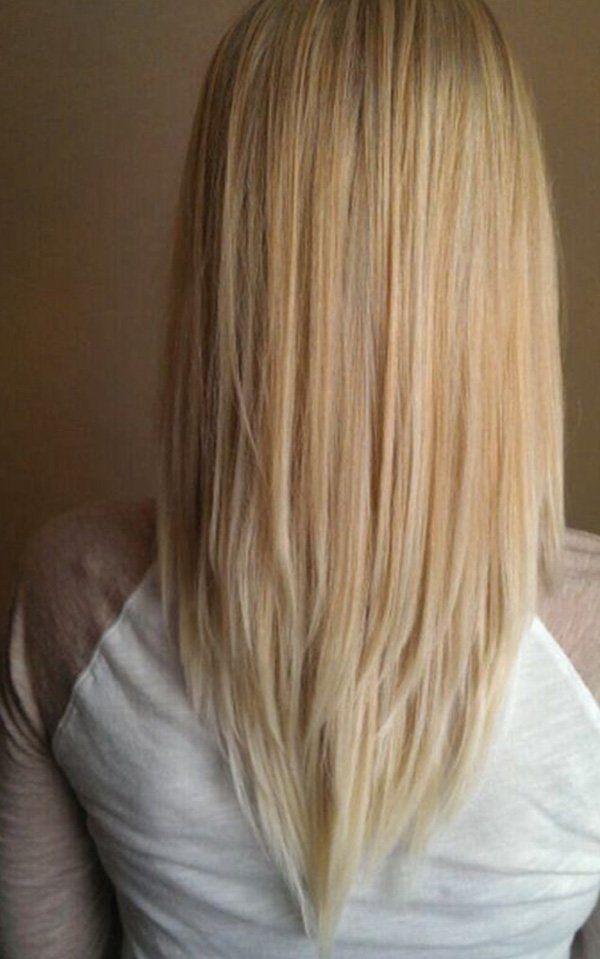 V Cut Mode Im Haar Die Stilvollsten 20 V Haarschnitte Hair