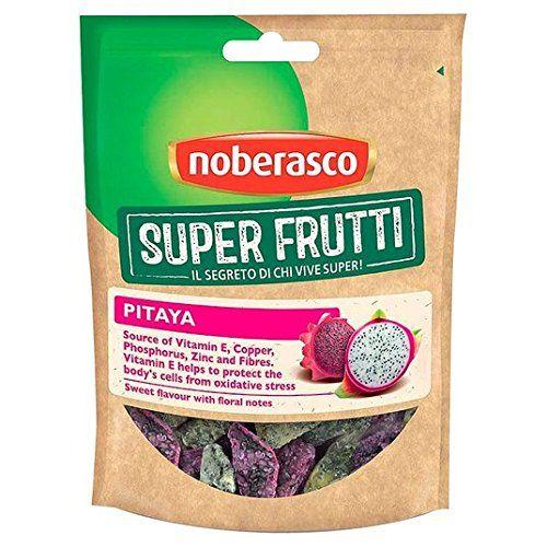 Noberasco Pitaya (Dragon Fruit) 60g: Végétarien Stockage: Après l'ouverture de magasin dans un endroit frais et sec. Type d'emballage:…
