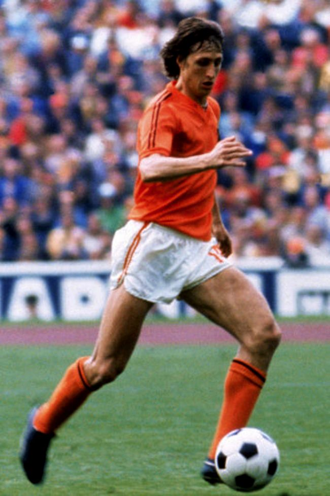 Johan Cruyff .. The dutch national team, World Cup 1974