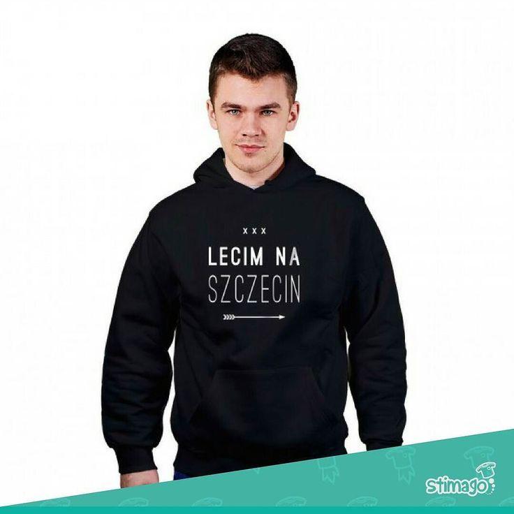 Lecim na Szczecin #bluza #bluzaznadrukiem #wzór #szczecin #regionalnie #dlaniego #mężczyzna #men #stimagopl Link w bio