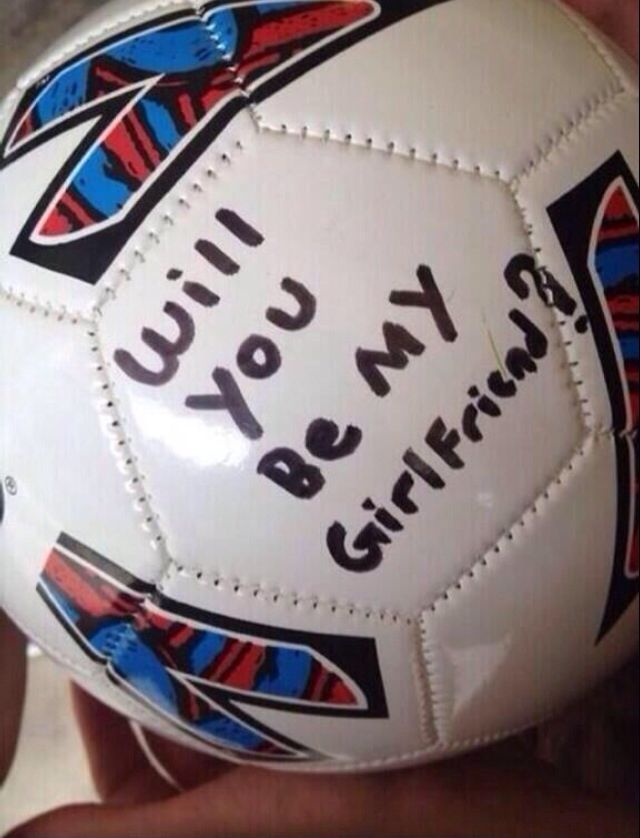 ⚽️this will be how i am asked out next no exceptions #soccer #love #relationship #soccerball