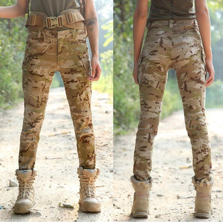 Camouflage women Multicam pants Scorpio Quick-drying Black military uniform Elasticity Slim All terrain Military trousers