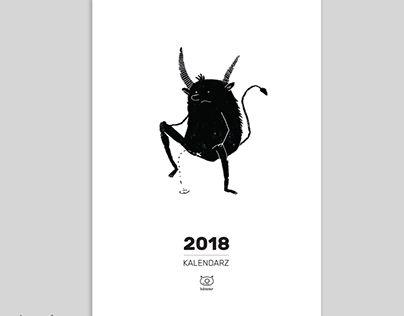 "Check out new work on my @Behance portfolio: ""Calendar 2018"" http://be.net/gallery/58538643/Calendar-2018"