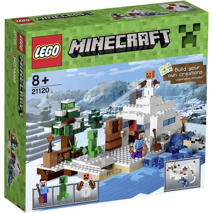 LEGO Minecraft Set 21120 Das Versteck im Schnee,versiegelte Neuware in Spielzeug, Baukästen & Konstruktion, LEGO | eBay!