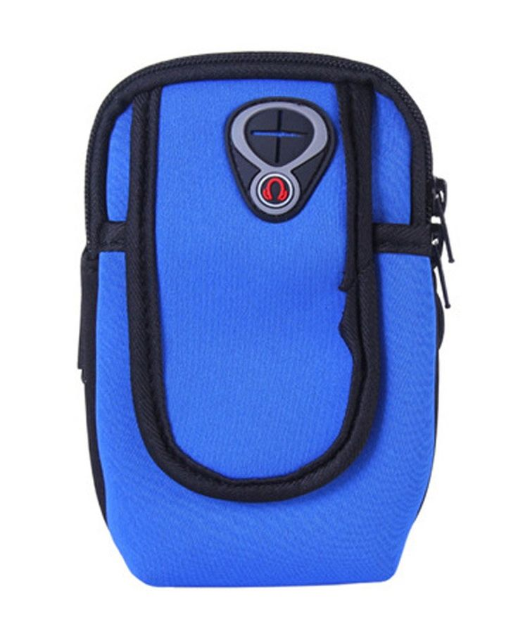Smile YKK Unisex Waterproof Sport Running Armband Phone Pack Arm Bag Dark Blue. Material: Waterproof fabric. Size: Suitable for 4-6 Inches Phone. lightweight runner's Arm pack keeps your values safe when you¡¯re doing exercise at home gyms, fitness center or outdoors. Durable Waterproof Bag / Running Arm Belts /Race Arm Belt - Fitness Workout Belt for Both Men and Women. Arm Pack Belt / Runners Arm Belt Pouch / Sport Running Arm Bag / Runner's Arm Pack Protects items during Workouts...