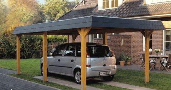 Best 25 carport bois ideas on pinterest carport en bois id es abris pour - Carport bois 2 pentes ...