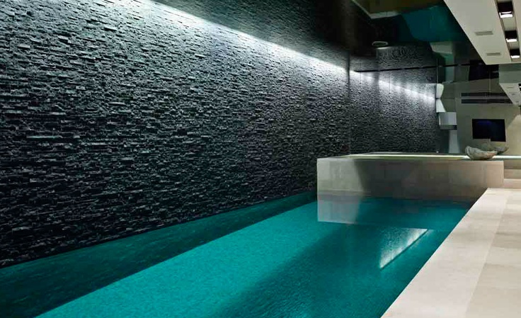 Interior pool, Private Residence Rutland gardens, London _ by Originate architects _
