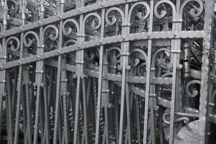 Zaun aus Polen - wrought iron fences Zäune Pinterest Wrought - gartendeko aus polen