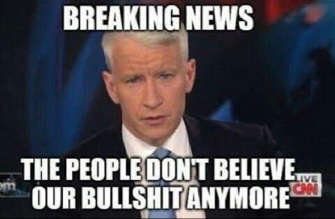 Mainstream Media BS!! This goes for all stations (it's not just Fox anymore!). Propaganda for the rich, elite, establishment!