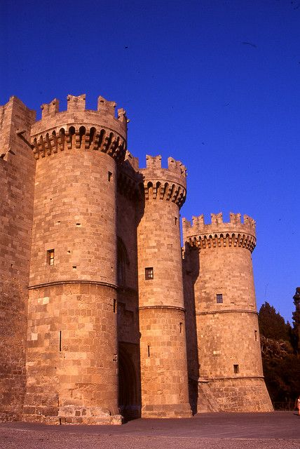 Templar Knights' Castle, Rhodes, Greece