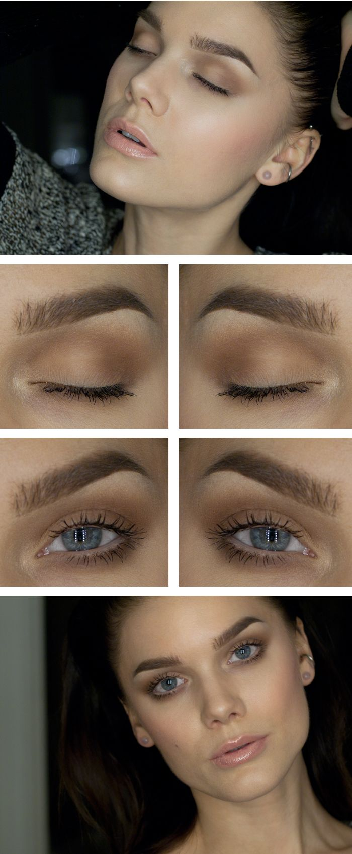 """Today's Look : """"Matte"""" -Linda Hallberg (a gorgeous all-matte eye look, perfect for a minimal makeup day) 11/24/13"""