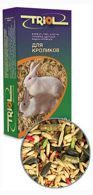Корм для кроликов Triol, 500 г