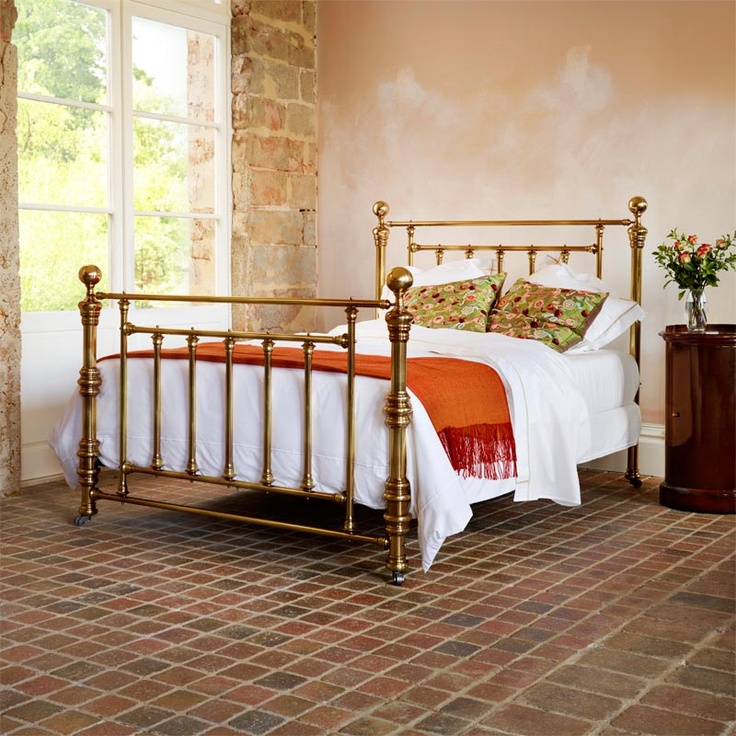 Best Brass Bed Decorating Ideas Images On Pinterest Home