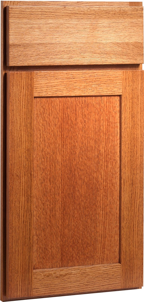 The Rockford Straight Grain Oak Door Implements The Clean, Timeless, Mission  Style Which Reflects