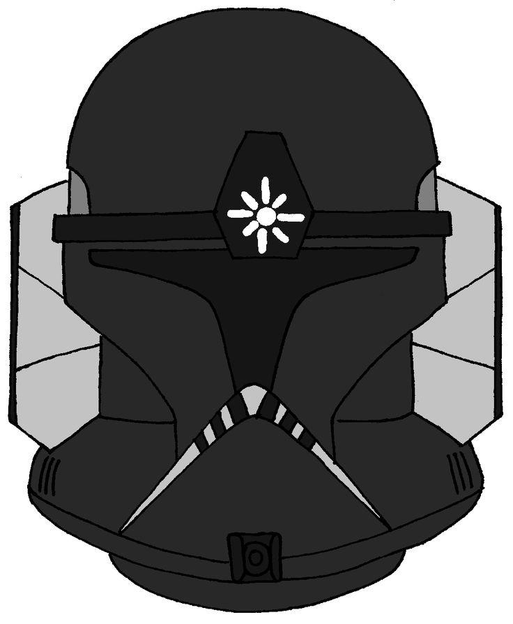 Clone Trooper Spark's Helmet