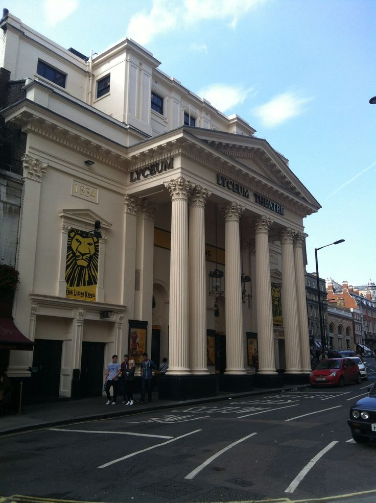 The Lion King musical at the Lyceum Theatre, London...done! (Spectacular)