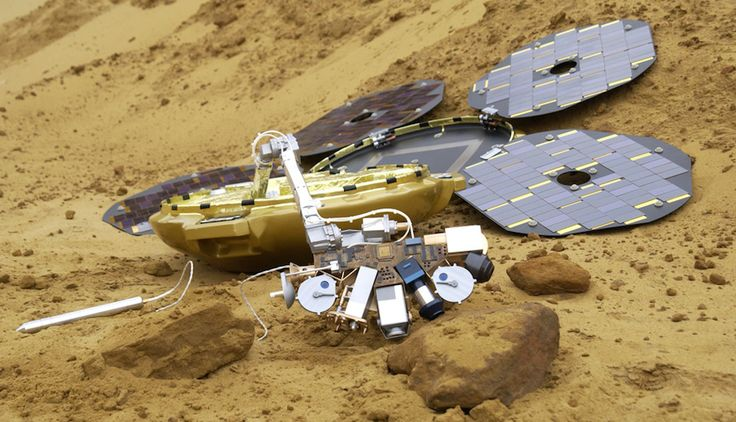 Scientists find Mars probe Beagle 2 intact a decade after it disappeared by Matt Brian | 1/16/15 When British spacecraft Beagle 2 successfully ejected from Mars Express back on 12/19/03, scientists expected to obtain confirmation of its touchdown.