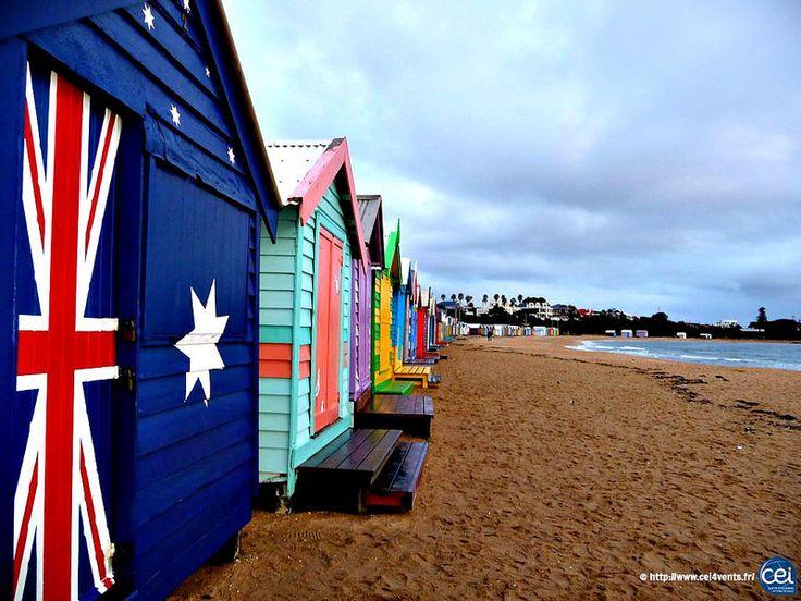 Séjour linguistique en Australie avec le CEI #Australie #Australia #CEI #voyage #travel #colonie #sejourlinguistique #holiday #summer  #beach #ocean #paradise #cabines #countries #flag #seacabins