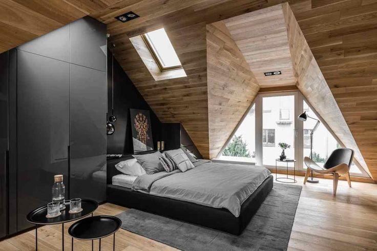 Крошечная квартира на чердаке | Design Zoom