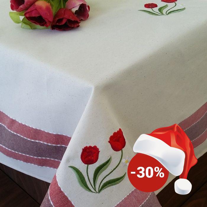 Față de masă Valentini Bianco WKY12 Red