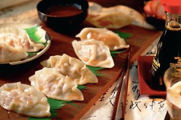 These authentic Japanese dumplings are delightfully crispy on the outside and juicy on the inside.