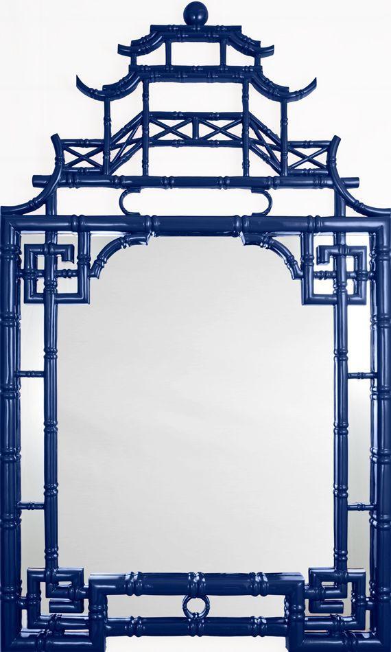 Chinoiserie Chic: The Pagoda Mirror