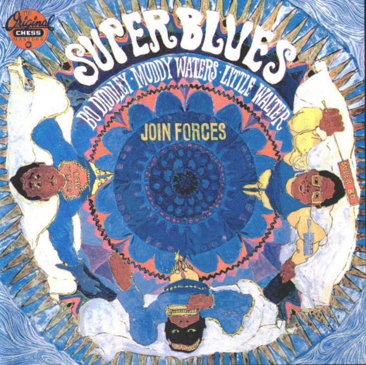 Super Blues Album Cover Music Album Cd Sheet Music