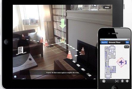 Esta Es Una Aplicación para medir, dibujar y publicar un plano interactivo de una vivienda, mediante la realización de fotos con el móvil o tablet.