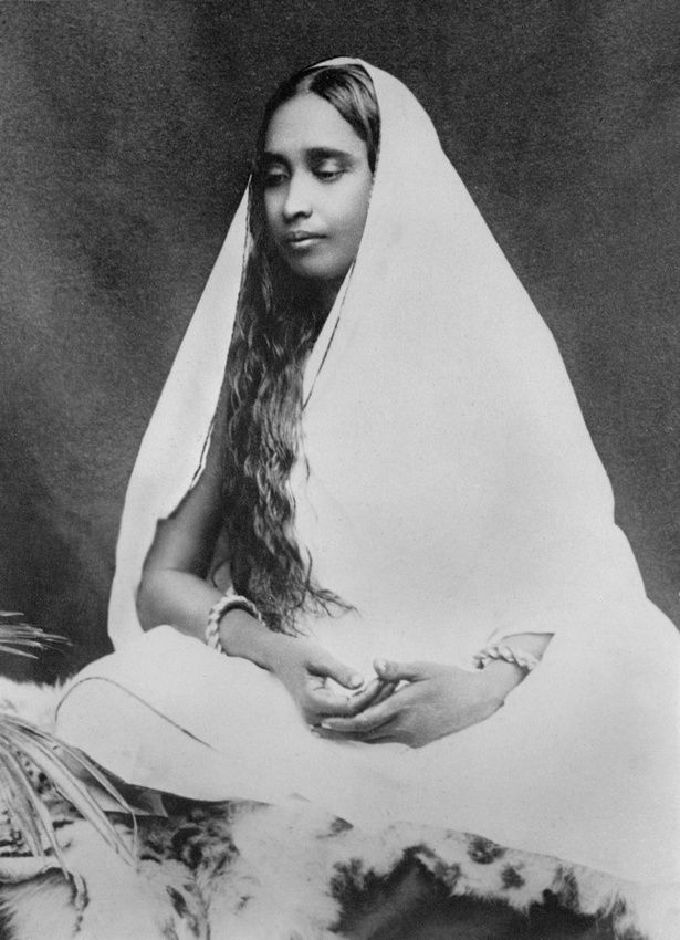 Sarada Devi Calcutta 1898