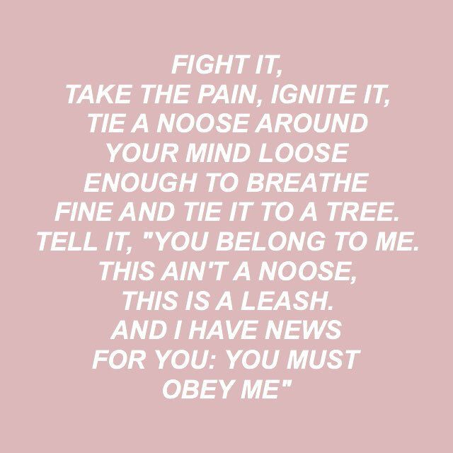 holding on to you // twenty one pilots