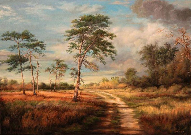 Landscape7. Tablou de Dan Scurtu