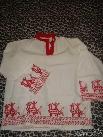 Русская народная рубашка концертная мужская