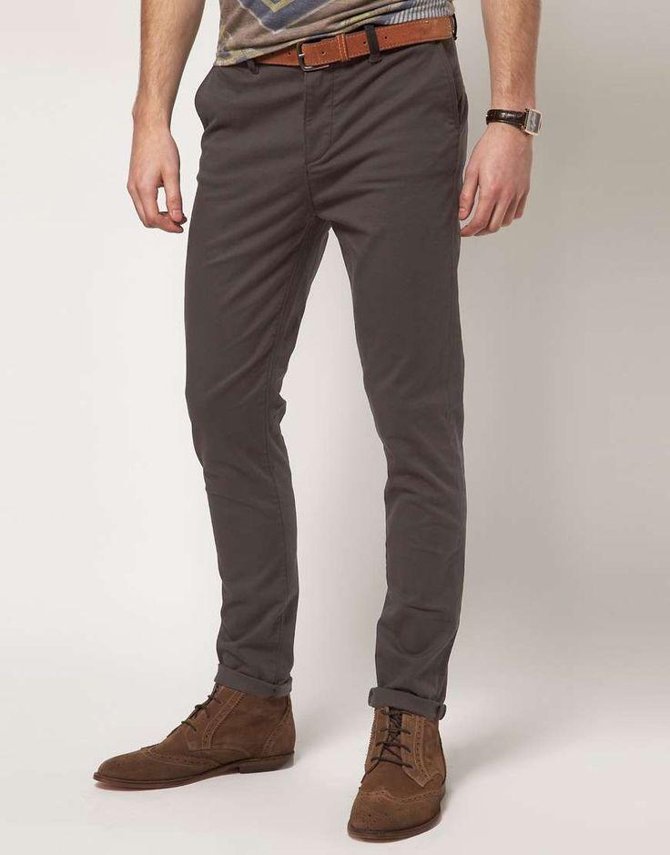 ASOS | Skinny Chino #asos #chino #pants