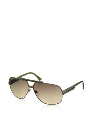 69% OFF Diesel Women's DL0025 Sunglasses, Dark Gold/Green