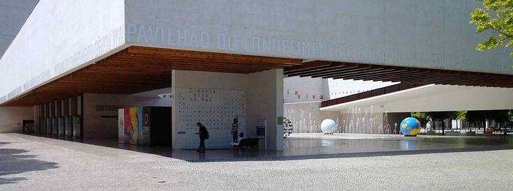 Grootste wetenschapsmuseum van Portugal staat op het terrein van Parque das Nações in #Lissabon #Lisbon #architectuur