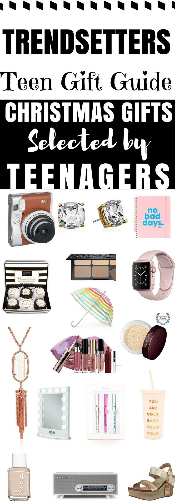 When you search for the best Christmas gifts for teenage girls and best gifts for trendy teenage girls you always come up with gift guides written by people who don't have teenagers. This one's different. My always on-trend sixteen year-old daughter helped me write this gift guide for parents like you who want to buy their teen girl the best holiday or birthday present, but can't come up with an idea on their own! You'll find something your teenage daughter will love on the 25 Must Have…