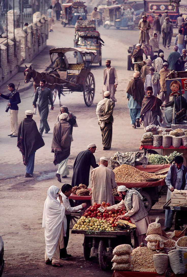 Steve McCurry ~ Where the World Meets, Afghanistan
