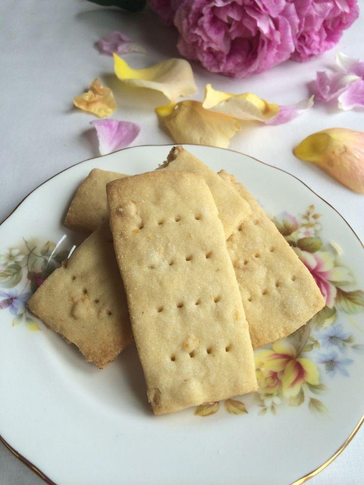 Recipe for Rose Petal Cookies
