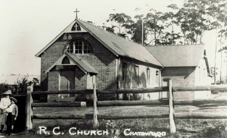 Our Lady of Dolours Catholic Church in Chatswood in the Upper North Shore of Sydney in the 1900s.     🌹