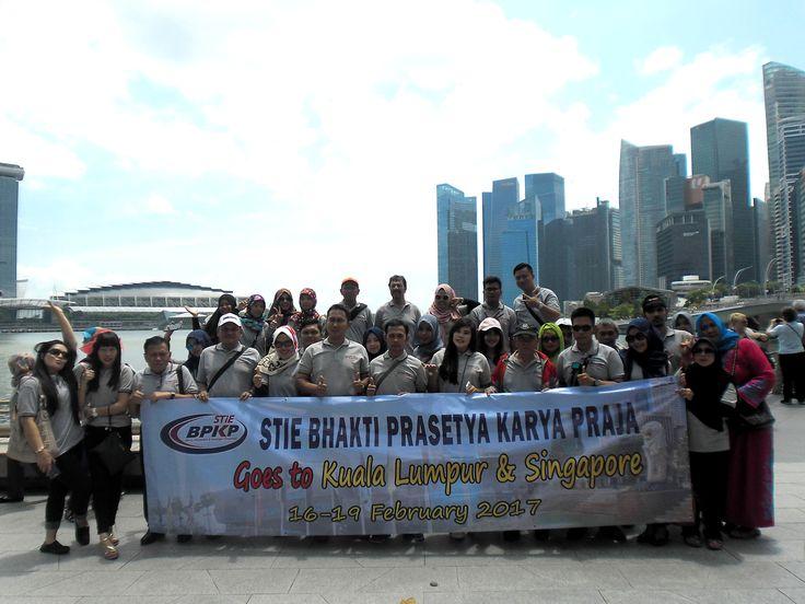 STIE BPKP study tour Malaysia Singapore