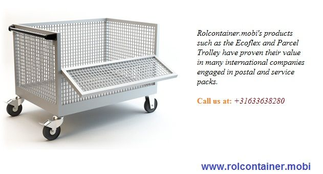 Rolconrainer.mobi's products are very eco-friendly and rolcontainers, trolley's have proven their value with their discounted prices. Many of the international companies used to buy trolleys, rolcontainer, roll cages, racks and other accessories.