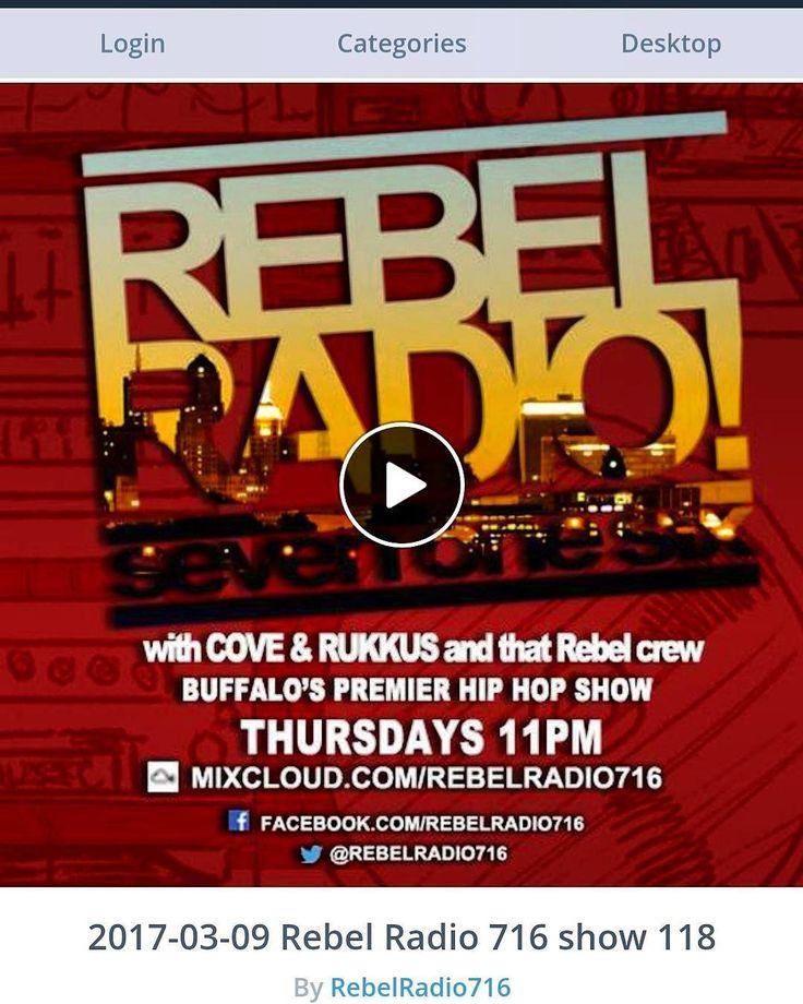 We're celebrating!!! https://m.mixcloud.com/RebelRadio716/2017-03-09-rebel-radio-716-show-118/  NEWEST EPISODE 118: The @griseldarecords Buff/Roc Invazion!!! FOLLOW @rebelradio716 + @jayrukkus + @moeprime + @jaygthemc + @iamtoneyboi + myself  @seenoequal @thugzsne #podcast #radio #BuffaloNY #Buffalohiphop #dj #turntablism #hiphop #mix #hiphopmusic #beats #beatculture #producer #production #instrumental #instrumentals #everythingbuffalo #onlineradio #beatmaker #sp404  #lofi #newmusic  #716…