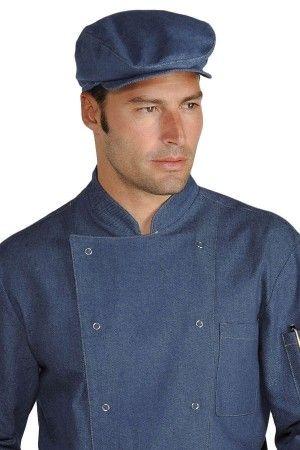 Cappello Modello Coppola uomo donna Ristorazione Eventi In Jeans