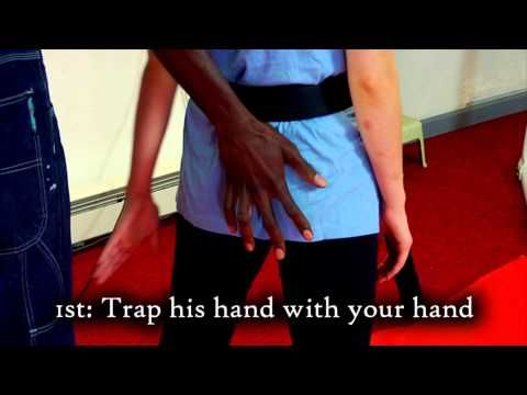 autodefensa One Minute of Self Defense: Butt Grab - YouTube