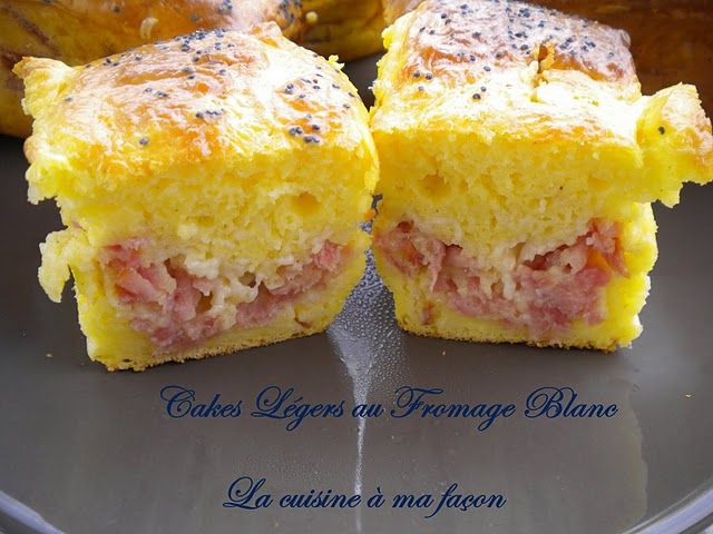 Recette - Cake léger au fromage blanc | 750g
