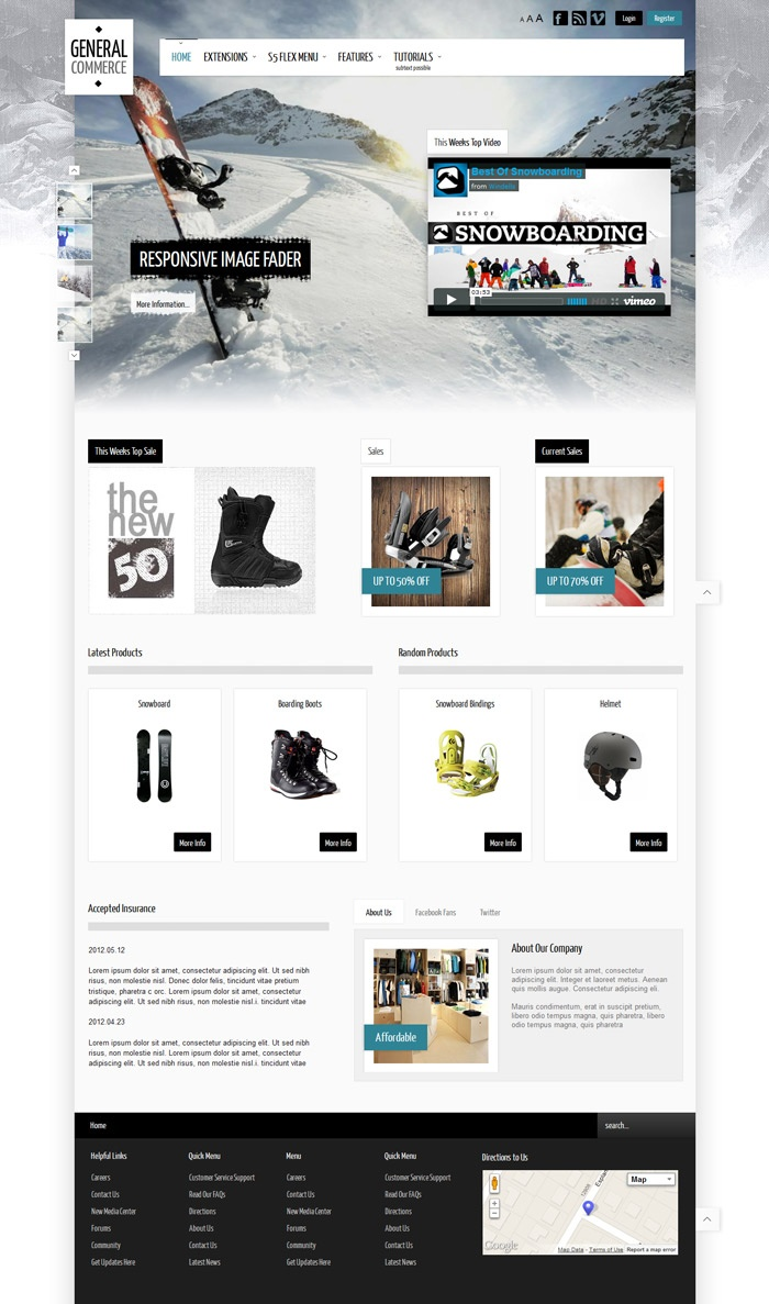 23 best images about ecommerce templates on pinterest