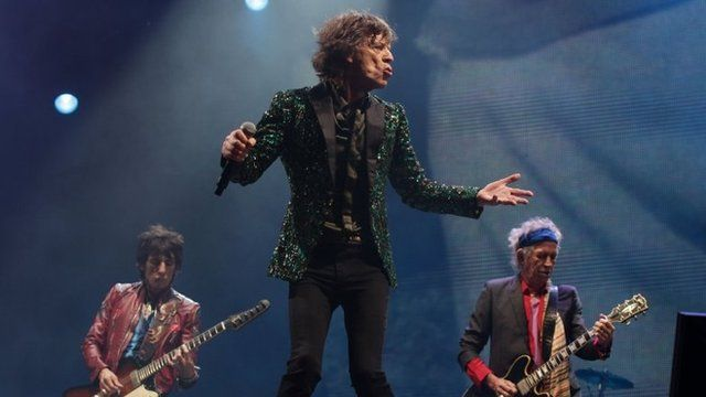 BBC News - Glastonbury Festival: Rolling Stones make debut