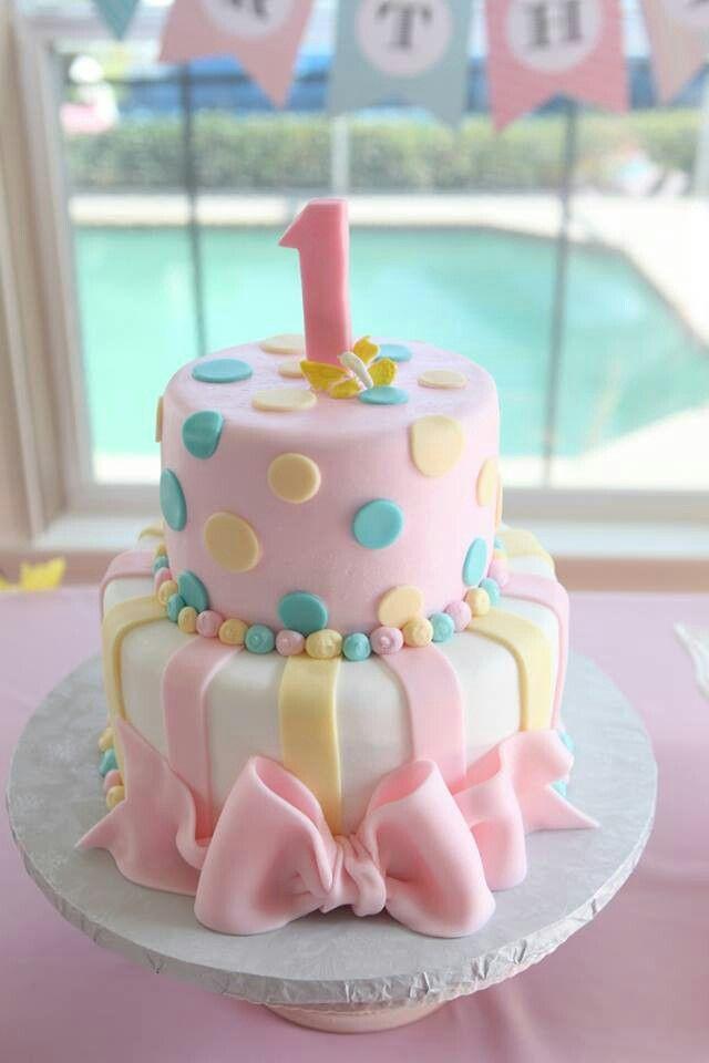 Birthday Cakes For Girls Za ~ Torta partyid�er pinterest